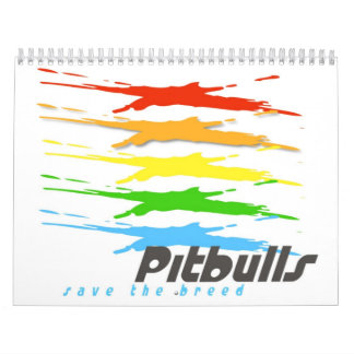 Pitbull Save the Breed calendar