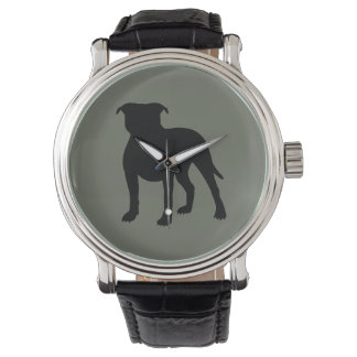 Pitbull Silhouette Watch