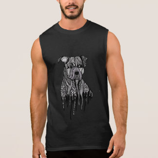 Pitbull Sleeveless Shirt