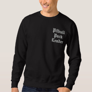 pitbull sweatshirt ecxlusive