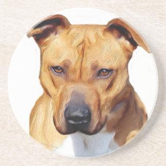 Pitbull Terrier Coasters