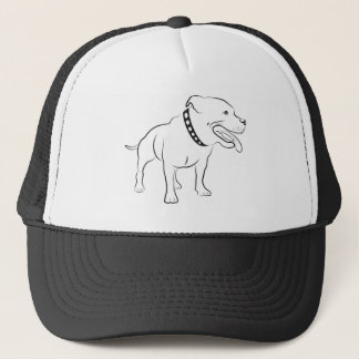 Pitbull Trucker Hat