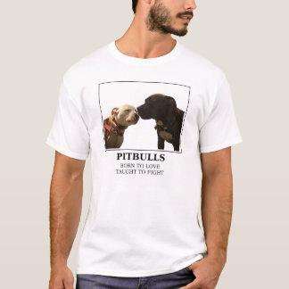 Pitbulls - Born to Love White - LRBBC T-Shirt