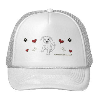 PitBullWht Trucker Hat