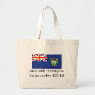 Pitcairm Islands Tote Bags
