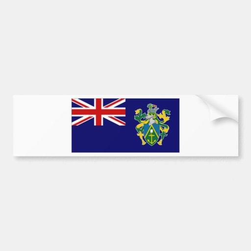 Pitcairn Islands National Flag Bumper Stickers