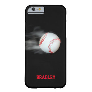 Pitch The Ball Baseball Personalized Barely There iPhone 6 Case