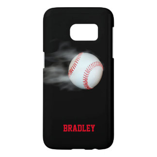 Pitch The Ball Baseball Team Player Personalized Samsung Galaxy S7 Case