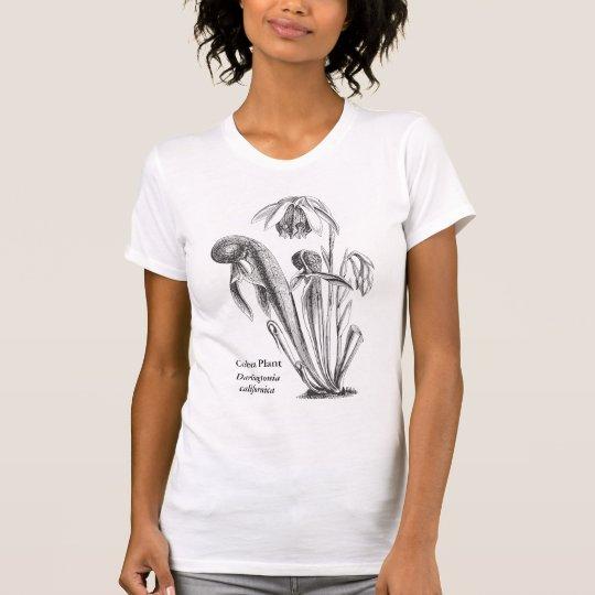 Pitcher Plant Botanical Art T-Shirt