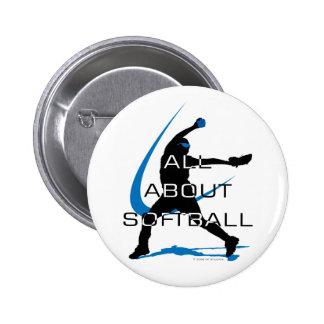 Pitcher Side copy Pinback Buttons