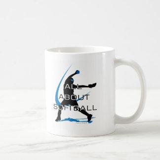 Pitcher Side copy Coffee Mugs