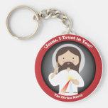 Pitié divine de Jésus Porte-clé Rond