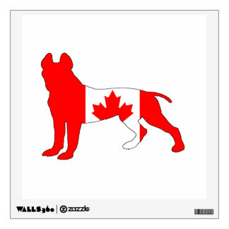 Pitt Bull Terrier Wall Sticker