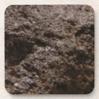 pitted rock texture coaster
