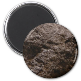pitted rock texture magnet