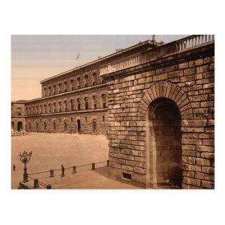 Pitti Palace, royal residence, Florence Postcard