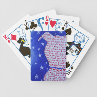 Pittie Love Bicycle Playing Cards