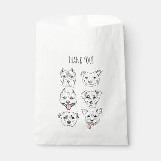 """Pittie Pittie Please!"" Dog Faces 