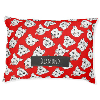 """""""Pittie Pittie Please"""" Dog Pattern 