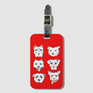 Pittie Pittie Please! Luggage Tag