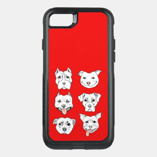 Pittie Pittie Please! OtterBox Commuter iPhone 8/7 Case