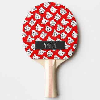 Pittie Pittie Please! Ping-Pong Paddle