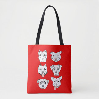 Pittie Pittie Please! Tote Bag