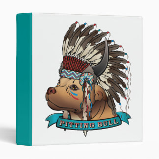Pitting Bull 3 Ring Binders