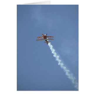 Pitts Special, Flying Upside Down Card