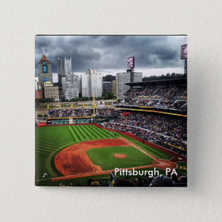 Pittsburgh Baseball 2 Inch Square Button