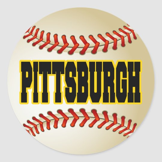 PITTSBURGH BASEBALL CLASSIC ROUND STICKER