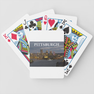 pittsburgh bicycle playing cards