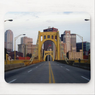 pittsburgh Bridge Mouse Pad