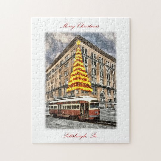 """""""Pittsburgh Christmas Memories"""" Puzzle"""