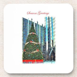 Pittsburgh Christmas Tree Coasters