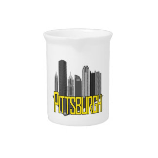 Pittsburgh City Colors Beverage Pitchers