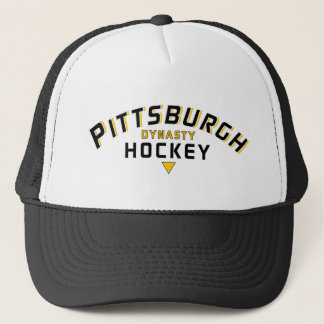 Pittsburgh Dynasty Hockey Trucker Hat