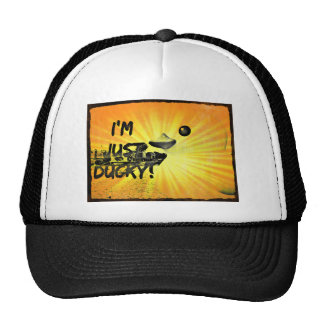 Pittsburgh Grunge Duck Trucker Hat
