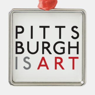 Pittsburgh is Art Holiday Ornament