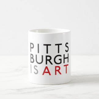 Pittsburgh is Art Mug