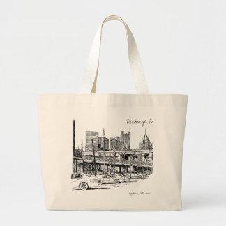 Pittsburgh Luxury Tote Bag