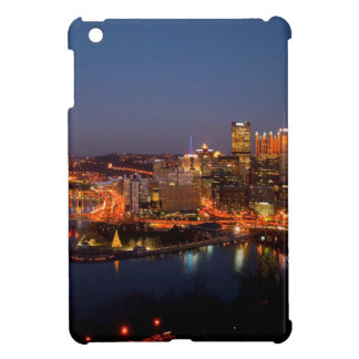 Pittsburgh Night Skyline iPad Mini Cover