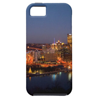 Pittsburgh Night Skyline iPhone 5 Cases