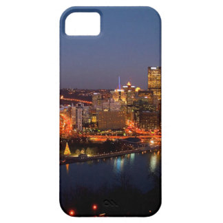 Pittsburgh Night Skyline iPhone 5 Cover