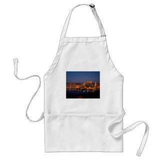 Pittsburgh Night Skyline Standard Apron