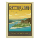 Pittsburgh, PA - City of Bridges Postcard
