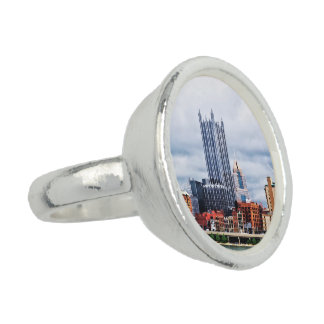 Pittsburgh PA Skyline Photo Rings
