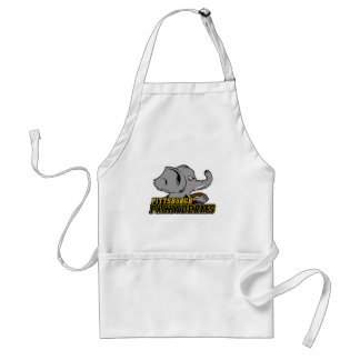 Pittsburgh Pachyderms Store Standard Apron