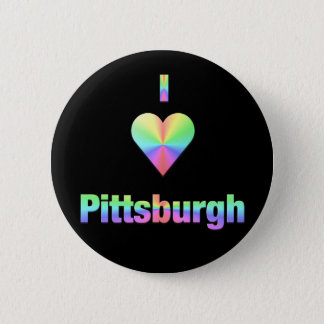 Pittsburgh -- Pastels 2 Inch Round Button