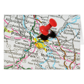 Pittsburgh, Pennsylvania Card